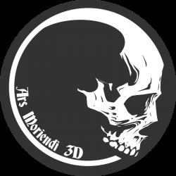 Ars-Moriendi-3D-Logo-White